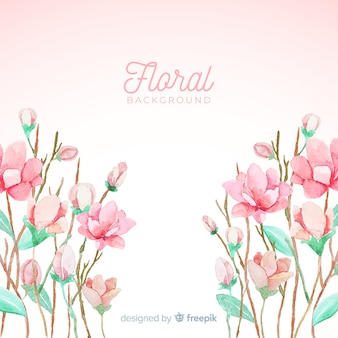 Fond floral