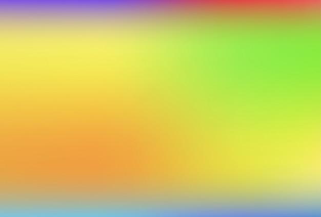 Fond flou de filet dégradé dans des couleurs arc-en-ciel douces.