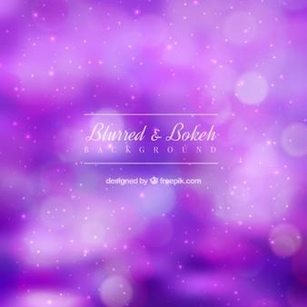 Fond flou violet avec effet bokeh