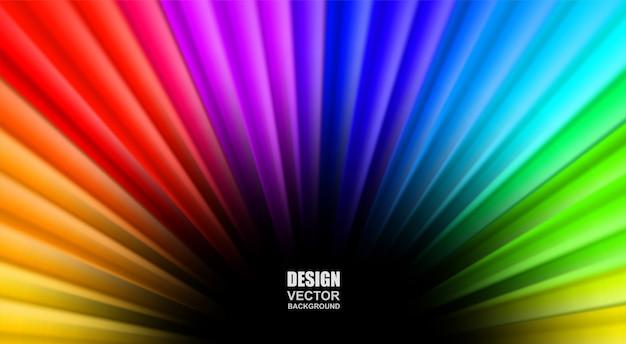 Fond fluide abstrait coloré qui coule