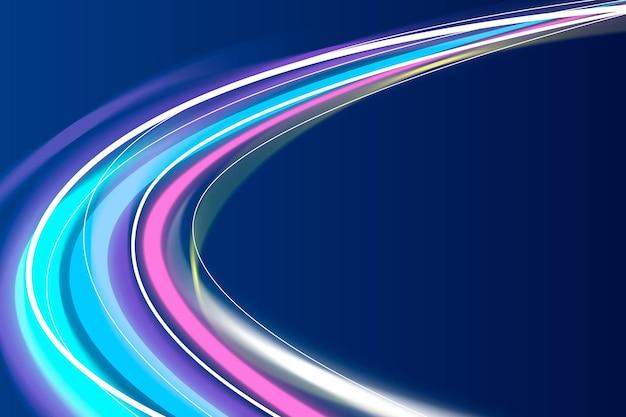 Fond de flux coloré