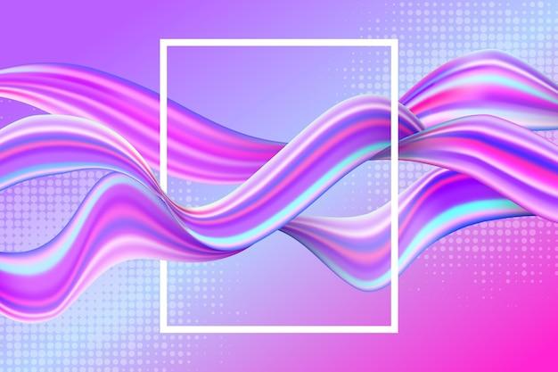 Fond de flux de couleur