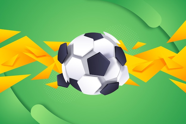 Fond de football abstrait dégradé