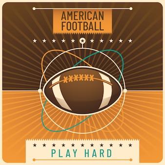 Fond de football américain