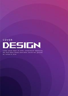 Fond de forme géométrique dégradé abstrait avec texture de grain pour la couverture web et le papier peint. conception de vecteur de papier pliant