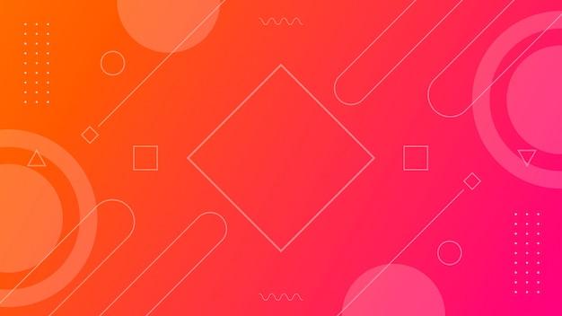 Fond de forme géométrique dégradé abstrait