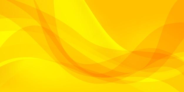 Fond de forme jaune abstrait