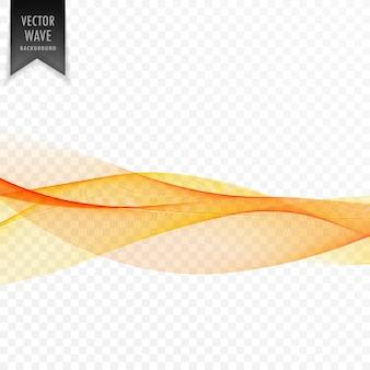 Fond de forme ondulée jaune abstrait