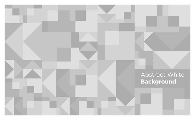 Fond de formes abstraites blanches et grises
