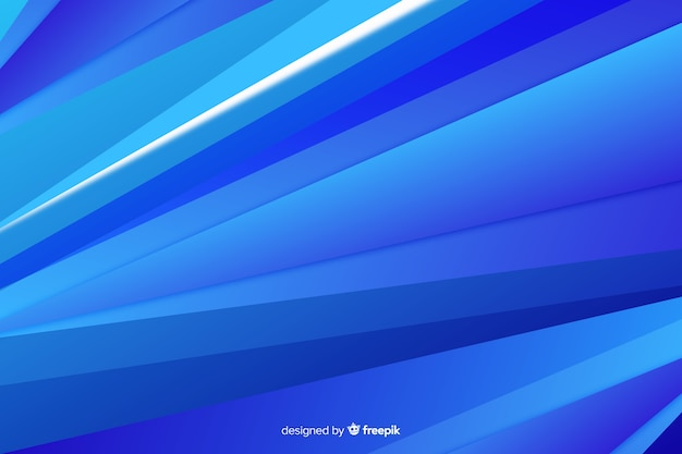 Fond de formes abstraites design bleu
