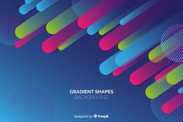 Fond de formes abstraites géométriques