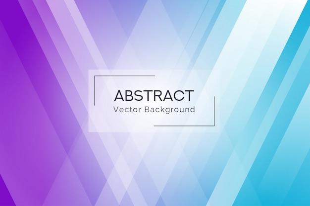 Fond de formes abstraites de rayons bleu et violet