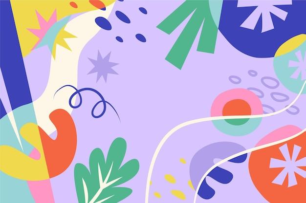 Fond de formes colorées