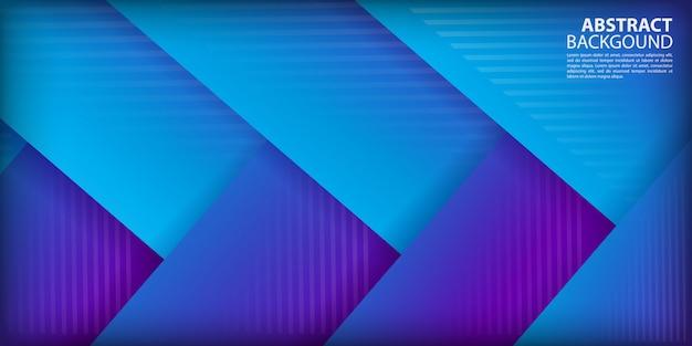 Fond de formes de flèche dégradé coloré