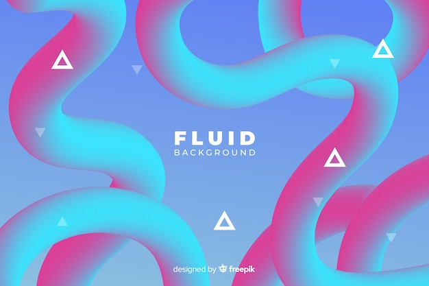 Fond de formes fluides dégradés