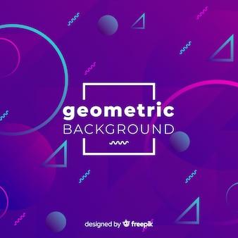 Fond de formes géométriques abstraites