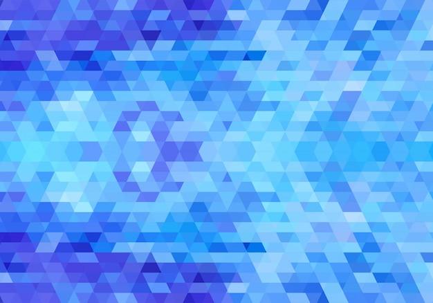 Fond de formes géométriques bleues modernes