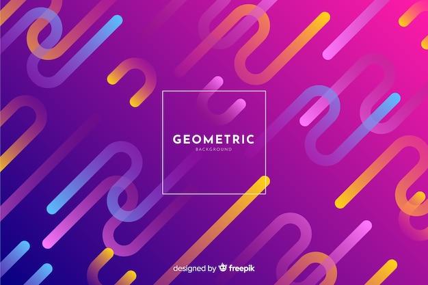 Fond de formes géométriques dégradés