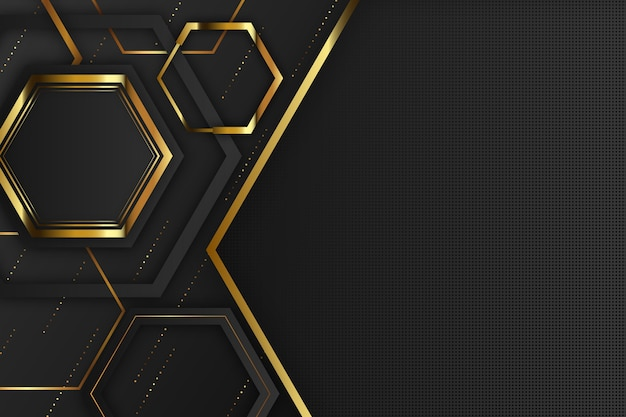 Fond de formes géométriques design élégant