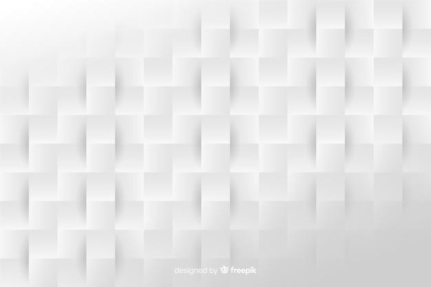 Fond de formes géométriques de style papier