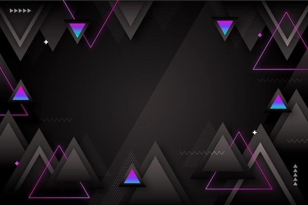 Fond de formes géométriques