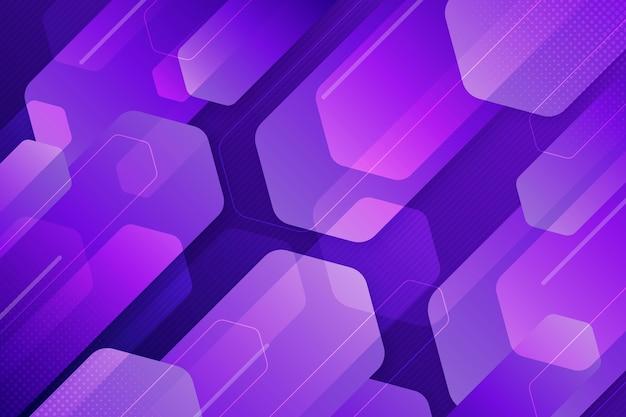 Fond de formes qui se chevauchent violet