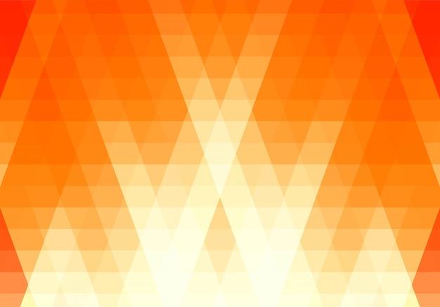 Fond de formes de triangle bleu abstrait