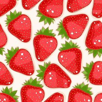 Fond de fraise
