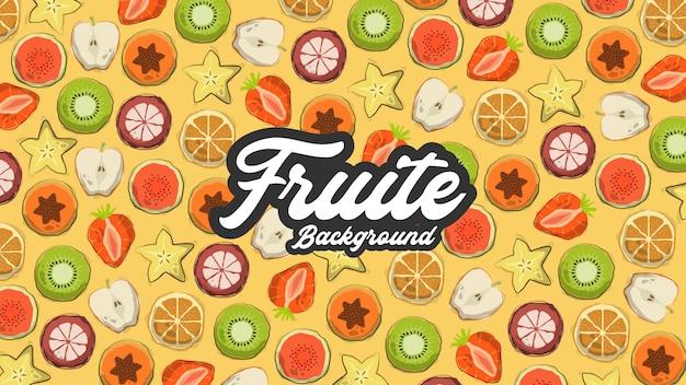 Fond fruite
