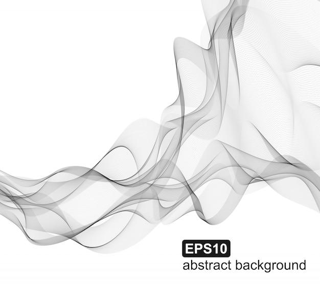 Fond de fumée abstract vector