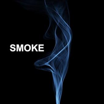 Fond de fumée abstraite de vecteur.