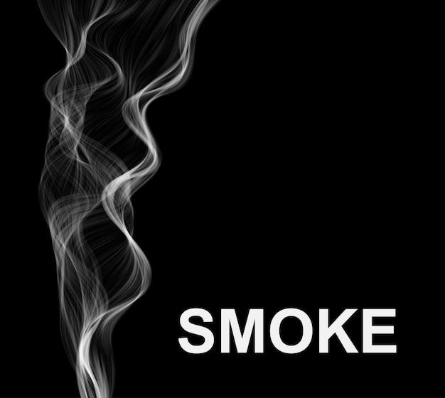 Fond de fumée abstraite.