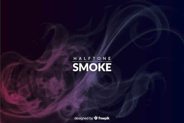 Fond de fumée demi-teinte sombre