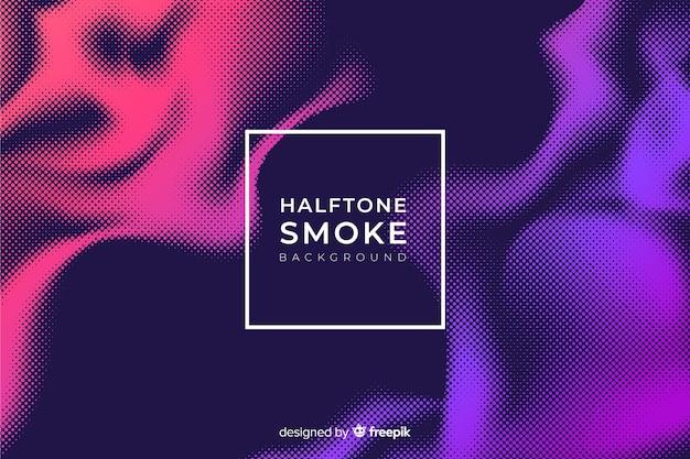 Fond de fumée en demi-teinte