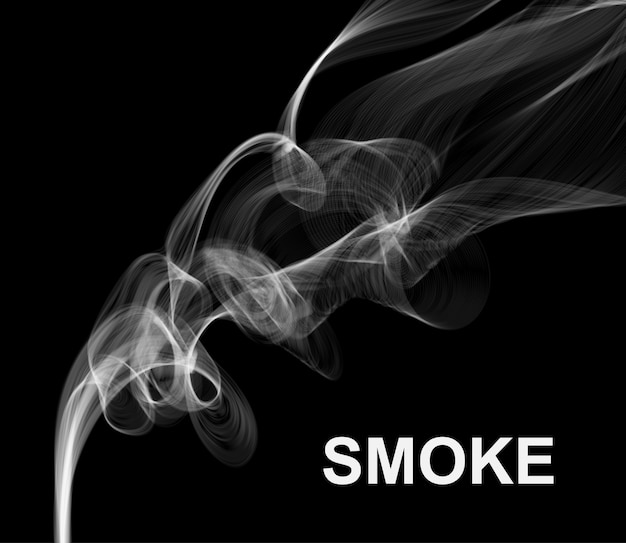 Fond de fumée.