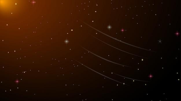 Fond de galaxie de l'espace noir