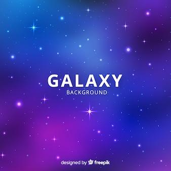 Fond de galaxie étoilée