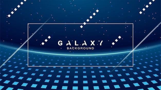 Fond de galaxie. fond de l'espace abstrait