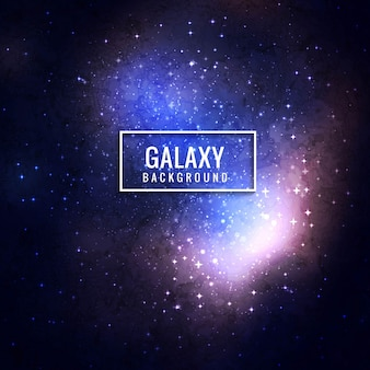 Fond de galaxie moderne