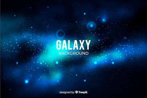 Fond de galaxie réaliste