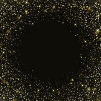 Fond de galaxie spatiale avec des étoiles modèle pour votre conception