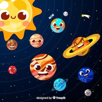 Fond de galaxie