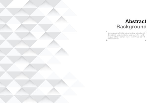 Fond de géométrie 3d dans le style de l'art du papier pour la conception de modèles.