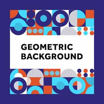 Fond de géométrie