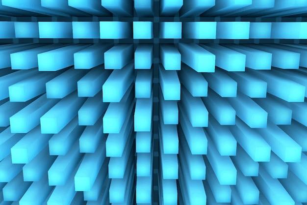 Fond géométrique 3d réaliste
