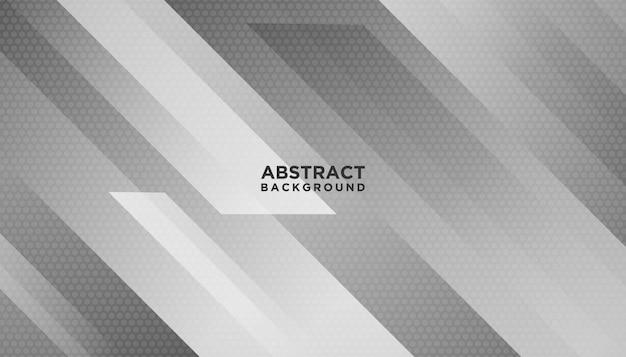 Fond géométrique abstrait blanc