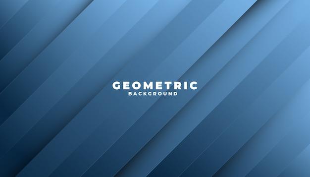 Fond géométrique abstrait bleu classique. forme moderne