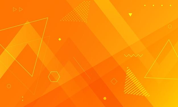 Fond géométrique abstrait dégradé avec illustration vectorielle de triangles