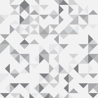 Fond géométrique abstrait gris