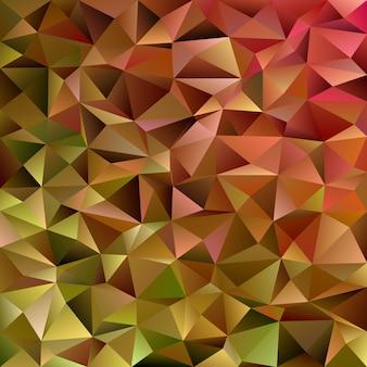 Fond géométrique abstrait en triangle chaotique - mosaïque graphique graphique vectoriel à partir de triangles colorés